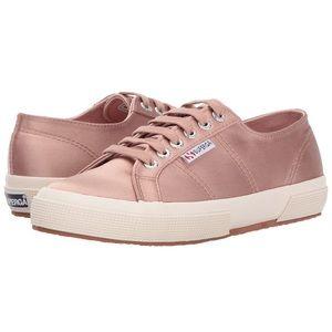 Superga 2750 Satin Sneakers in Rose/Blush - 37